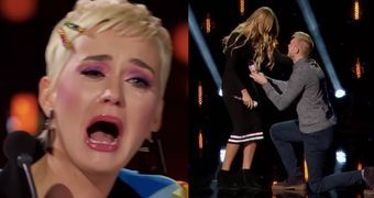 American Idol: Katy Perry Let the Tears Flow During This Romantic Surprise Proposal
