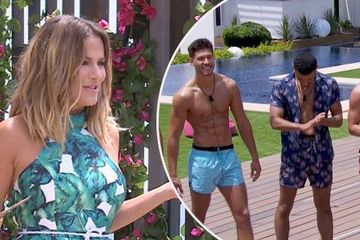 Love Island: Caroline Flack makes SHOCK return to villa days after dumping as she brings huge news