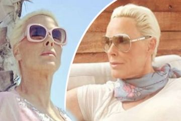 Brigitte Nielsen reveals name of newborn daughter after welcoming fifth child at 54
