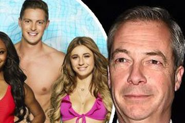 Nigel Farage teases shock Love Island appearance as politician says ITV2 show looks like 'rather good fun'