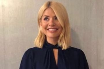Holly Willoughby outfit today: Holly wears Dorothy Perkins top on This Morning and fans are losing their minds over her Tuesday style