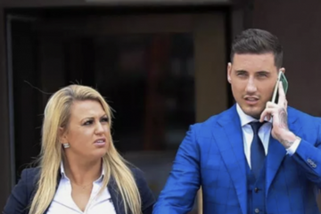 Jeremy McConnell holds hands with lawyer 'girlfriend' Katie McCreath in cosy social media post