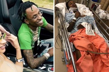 Rich The Kid Hospitalized After Getting Robbed at Gunpoint & Pistol-Whipped at Girlfriend Tori Brixx's House