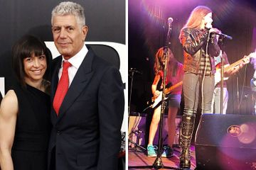"Anthony Bourdain's Ex-Wife Ottavia Busia Shares Photo of ""Strong and Brave"" Daughter"