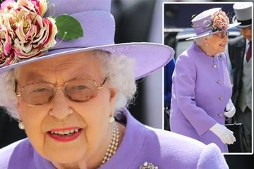 Queen Elizabeth gloves: Why Her Majesty is required to wear gloves as she attends Epsom Derby Day in gorgeous lilac outfit
