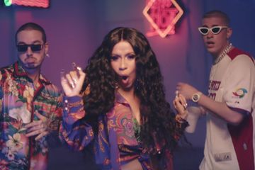 "Cardi B Parties With Bad Bunny & J Balvin in ""I Like It"" Video"