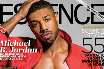 "Michael B. Jordan Covers Essence Magazine's ""Men's Issue,"" Talks Inclusion and Empowering Women"