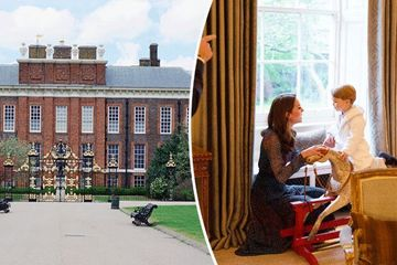Kensington Palace: Inside Duchess of Cambridge Kate Middleton and Prince William's private family home where they live with Prince George and Princess Charlotte and new baby boy