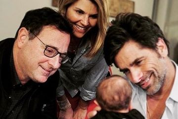"John Stamos Introduced His New Baby To His ""Full House"" Besties And I'm Squealing"