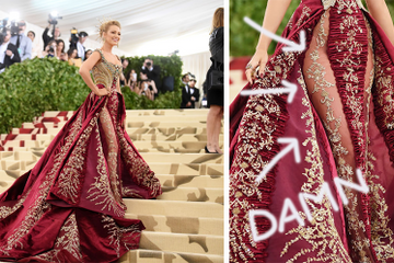 Blake Lively Slayed The Met Gala With A Dress That Took Over 600 Hours To Make