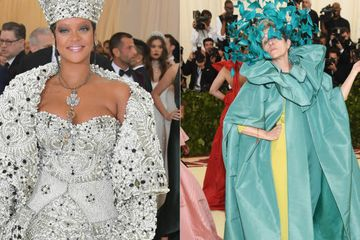 Here's What Every Celebrity Wore To The 2018 MET Gala
