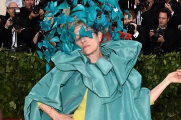 Frances McDormand Posing At The Met Gala Is The Only Thing I Care About