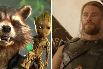 "Here's What Groot Said To Rocket At The End Of ""Avengers: Infinity War"""