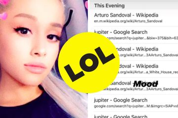 Ariana Grande Obsessing Over Space Stuff In The Middle Of The Night Is All Of Us