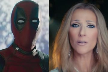 Celine Dion And Deadpool Are In A Music Video Together And It's As Dramatic As You'd Think