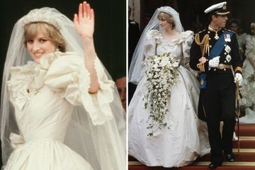 Princess Diana's makeup artist reveals she hid a disastrous wedding dress secret from the world on her big day in 1981