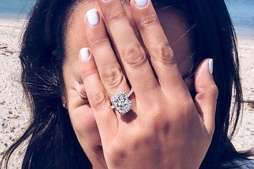 Lea Michele Is Engaged And Holy Shit, Her Ring Is MASSIVE