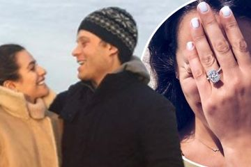 Glee star Lea Michele gets engaged to boyfriend Zandy Reich after 10 months of dating