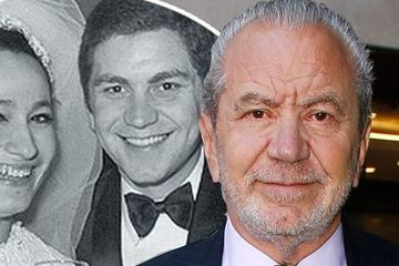Lord Alan Sugar pays touching tribute to wife on 50-year wedding anniversary  but The Apprentice host looks totally unrecognisable