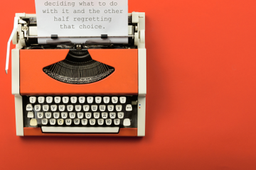23 Anonymous Confessions Left On A Public Typewriter