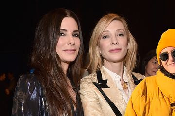 "Look At These Beautiful Pics Of The ""Ocean's 8"" Cast And Then Those Same Pics But Slightly Improved"