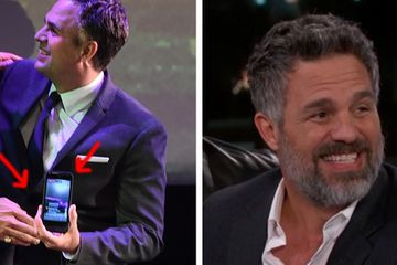 "Mark Ruffalo Got Yelled At For Accidentally Live-Streaming ""Thor"" At The Premiere And It's Hilarious"