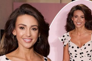 Michelle Keegan stuns on the catwalk as she's supported by celebrity pals including Jess Wright at launch of new collection