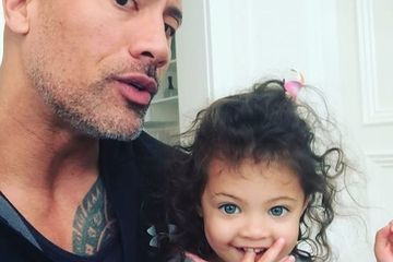 This Is Important: The Rock Has Two Daughters With Disney Princess Names