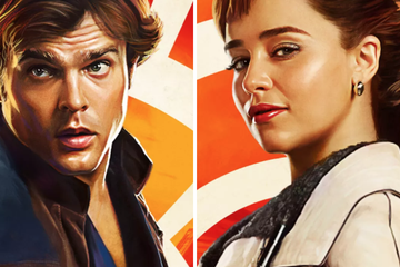 "These Exclusive ""Solo: A Star Wars Story"" Posters Are Gorgeous AF"
