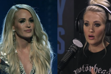 Carrie Underwood Revealed Where The Stitches Were On Her Face After She Fell
