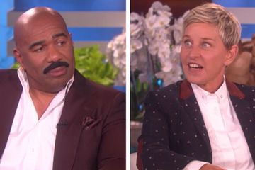 "Ellen DeGeneres Just Found Out Everything That Goes Down On The Kardashian Vs. West ""Family Feud"" Episode"