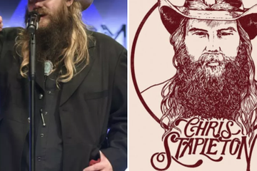 Chris Stapleton Just Celebrated Winning Album Of The Year, The Birth Of His Twins, And His Birthday All In ONE Night