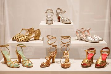 Museum exhibit proves shoes can be high art