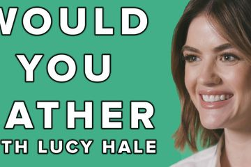 "Lucy Hale Played A Very Tough Game Of ""Would You Rather"" And It Was Hilarious"