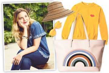 Drew Barrymore's rainbow-chic shopping list for spring