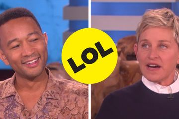 Ellen Tested John Legend On Chrissy Teigen Trivia And He Totally Nailed It