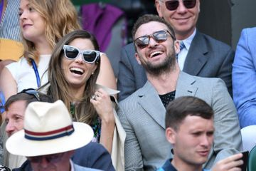 Justin Timberlake Pops Up at Wimbledon With His Wife After Dropping the Song of the Summer