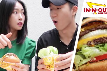We Tried Korean Version Of InNOut
