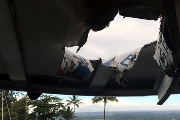 Lava Bomb Hits Tourist Boat in Hawaii, Injuring 23