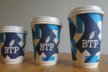 Sales suffer as coffee shop bans takeout cups