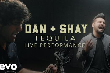 Dan Shay Tequila Official Performance | Vevo