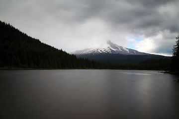 Photo: Storm over Mt. Hood is a moody beauty