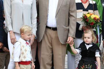 Princess Charlene and Prince Albert II Celebrate the End of Summer With Their Adorable Twins