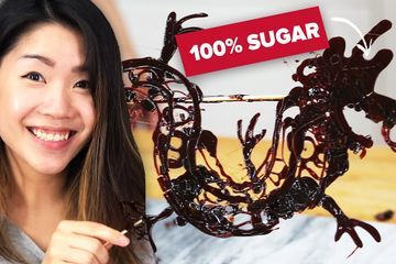 I Made The Amazing 700YearOld Sugar Painting From China