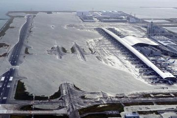 Many Major Airports Are Near Sea Level. A Disaster in Japan Shows What Can Go Wrong.