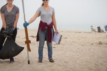 The one thing missing from beach cleanups