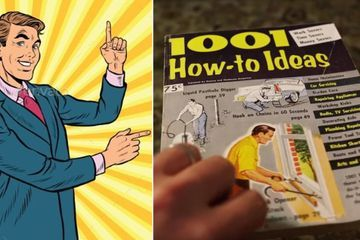 Guy finds a 1960s life hack book, tries it out, and was amazed how well the tips held up (28 Photos)