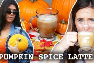 I Tried To Make Kourtney Kardashians Pumpkin Spice Latte
