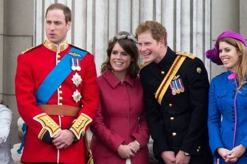 How Is Princess Eugenie Related to William and Harry? Well, That's an Easy One