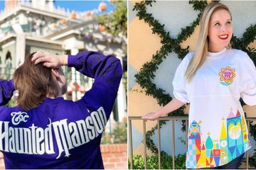 Disney Is Releasing 4 Jerseys Inspired by Famous Rides, Including the Haunted Mansion!
